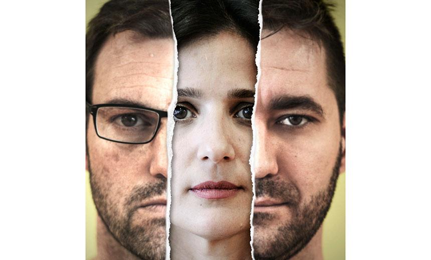 """THREESOME Versión libre de """"Tape"""" de Stephen Belber"""